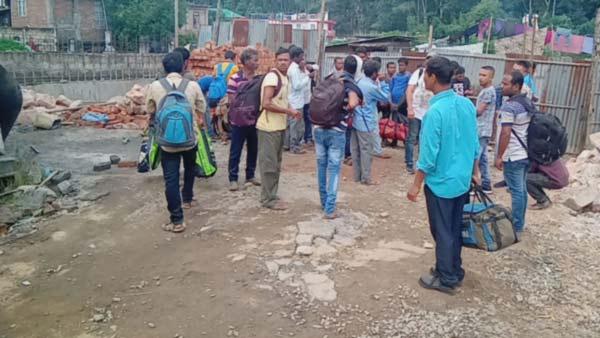 Hundred of betelnut trees cut down at Khajura Village of Assam, KSU & BVKJWO files FIR 1