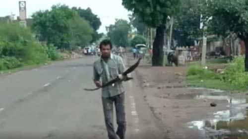 Tamabil road turned paddy field:HYC 2