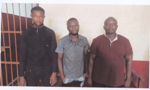 Champion Sangma's men caught of extortion 1