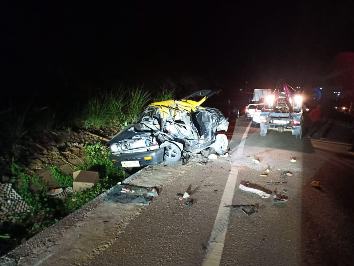 A horrific accident at Umsning Bypass 1