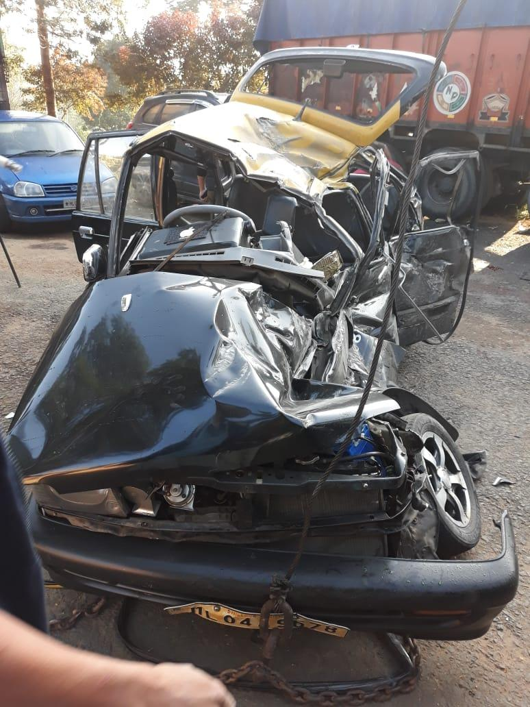A horrific accident at Umsning Bypass 2