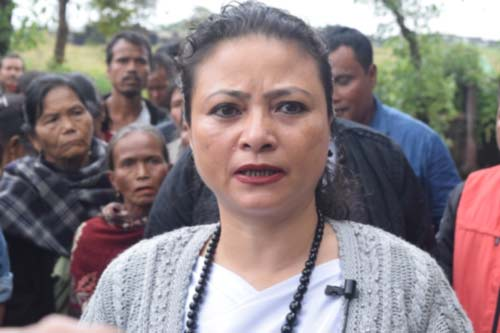 Confident Kong Grace, hopes Shella will send a Woman MLA 1