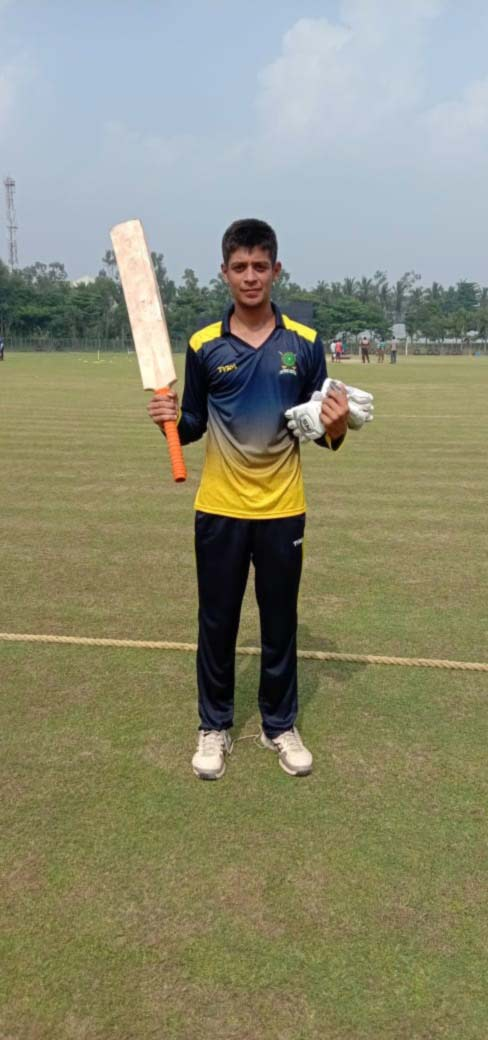 Meghalaya beats Nagaland  in U-23 Men's Cricket 1
