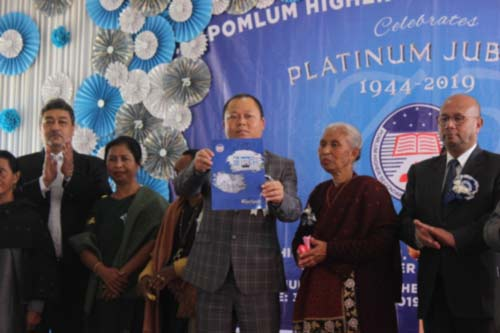 West Jaintia police, donates to CM's relief fund 1