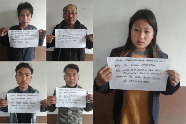 10Kg of Yaba tablets seized, five people from Ukhrul arrested 3